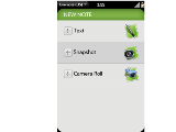 Evernote for Palm