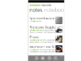 Evernote for Windows Phone 7