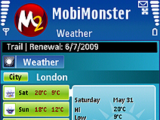 MobiMonster Weather Forecast
