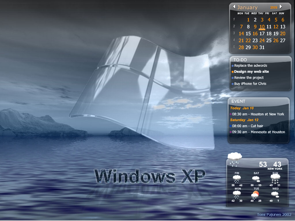 Desktop Calendar Download : Desktop icalendar lite screenshots