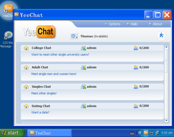 all free chat room