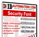 IDAutomation Security Fonts
