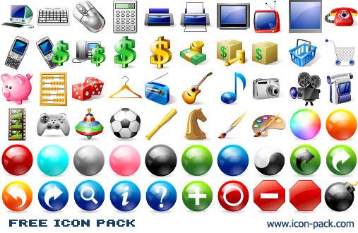 Free Icon Pack 2011.1 Screenshots