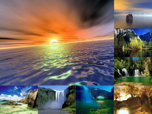 screensaver nature scenes - photo #30