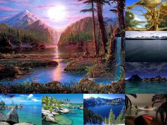 screensaver nature scenes - photo #42