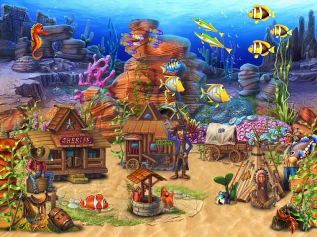 fish tank wallpaper. Own a virtual aquarium of