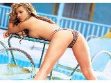 Might Carmen electra in lingerie strict