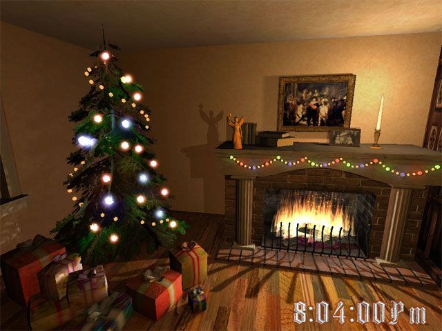 Download Fireplace 3D Screensaver for windows 10 free version