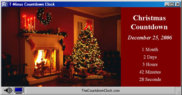 Christmas Countdown Clock Screensaver T-minus christmas countdown 6.0 ...