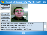 FaceCell Algorithm Demo (for WinCE)