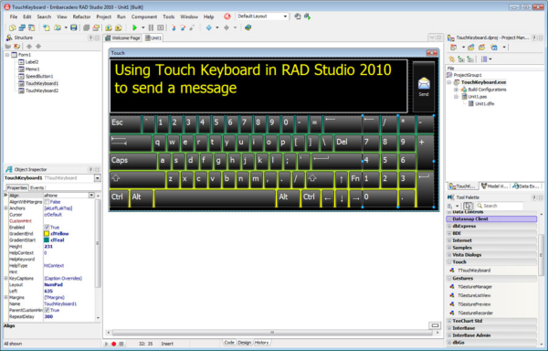 Скачать Embarcadero (CodeGear) RAD Studio 2009, Софт, Windows, Программиров
