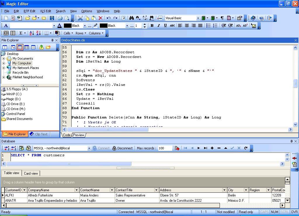 Magic Editor 3 0 Screenshots