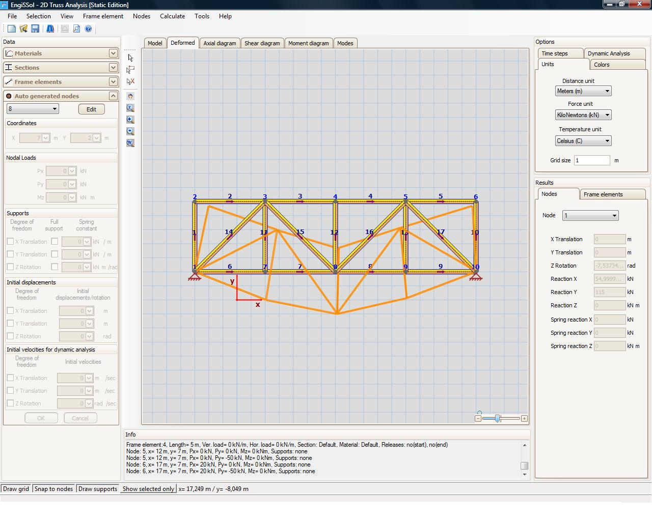 2d truss analysis 2 0 free download for Order trusses online
