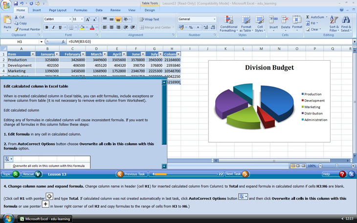 edulearning for word excel and powerpoint 2007 1109