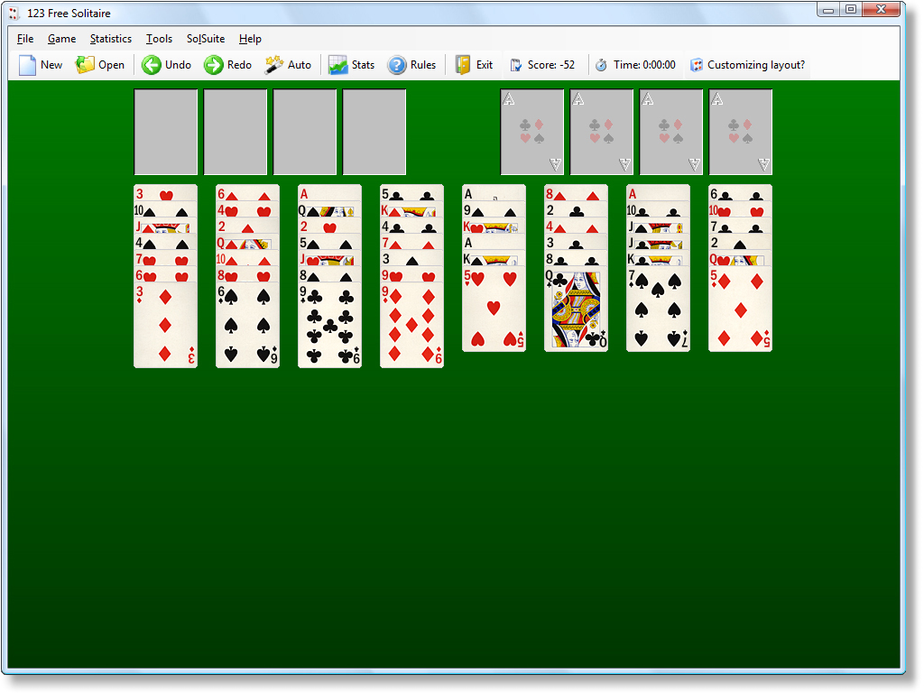solitaire card games free online