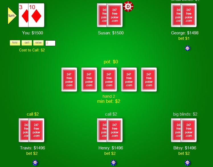 learn poker online free no download