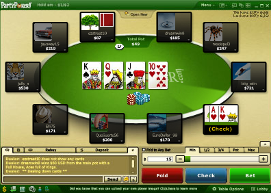 Party Poker Games Free