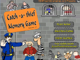 Catch A Thief Memory Game