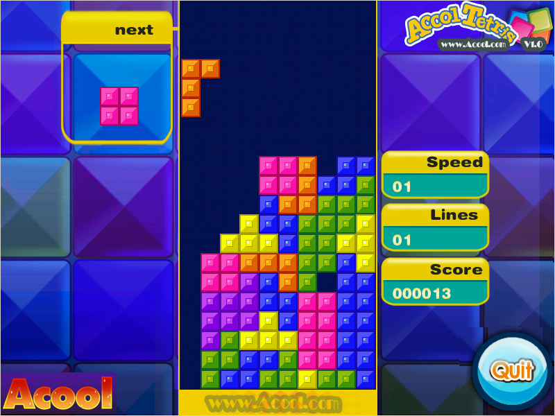 Acool Tetris V 10 Freeware Download