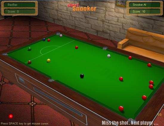 snooker online game