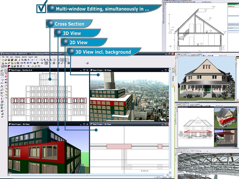 Cad architecture pro 2010 free download for Architectural drafting programs free
