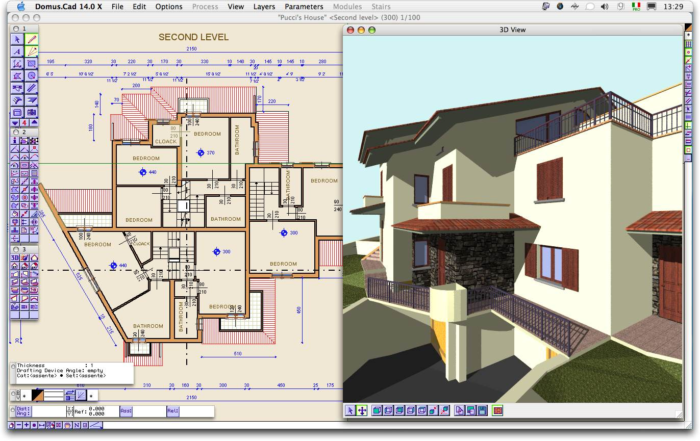 Domus cad for mac os x 15 free download 3d architecture design