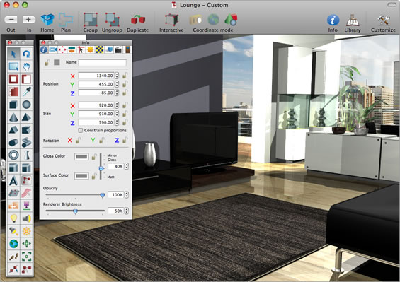 A Powerful Yet Easy To Use 3D Interior Design Modeling And Animation Program