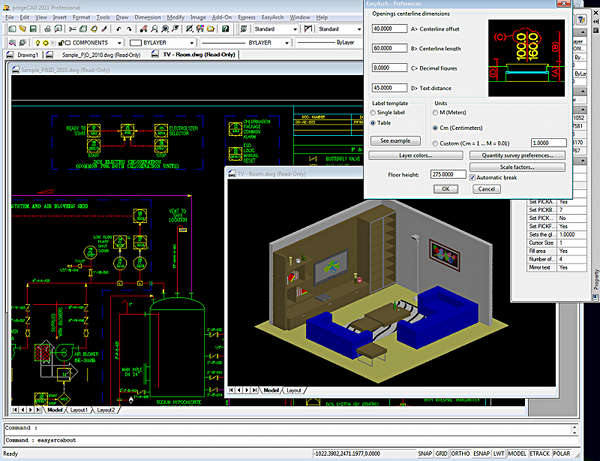 progecad professional 2011 dwg cad 110832 free download