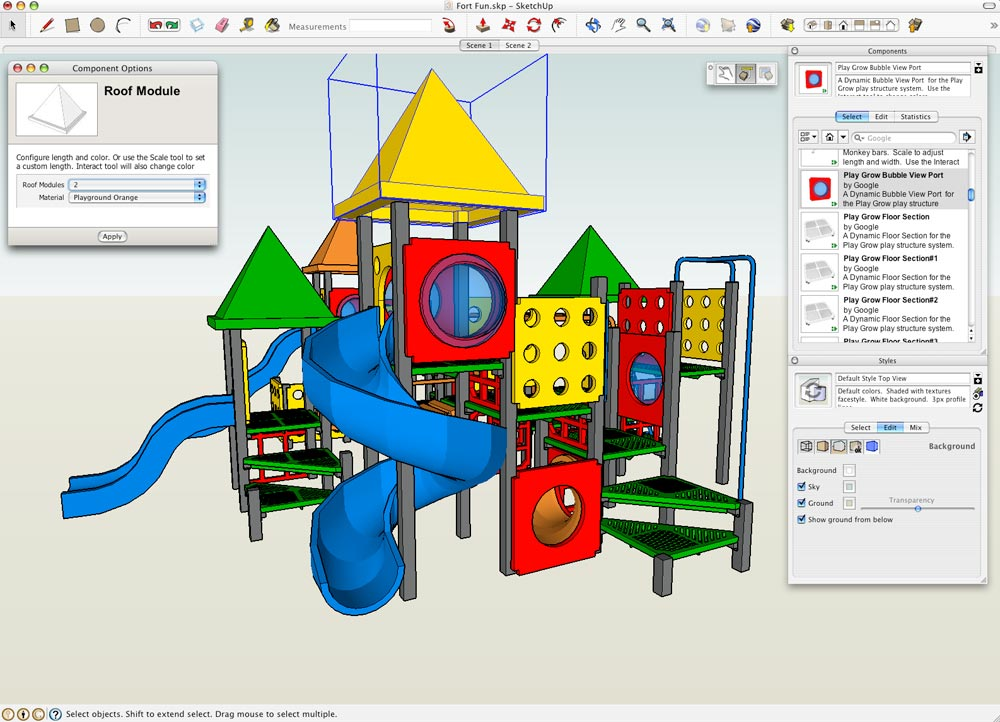 Google Sketchup 7 Screenshots