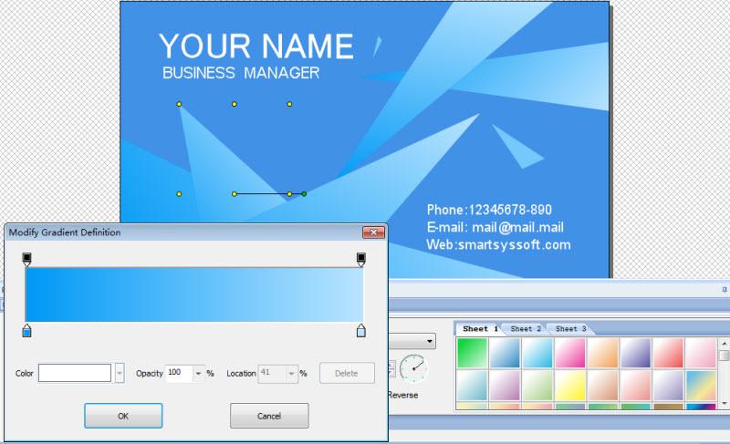 smartsyssoft business card maker 280 freeware download