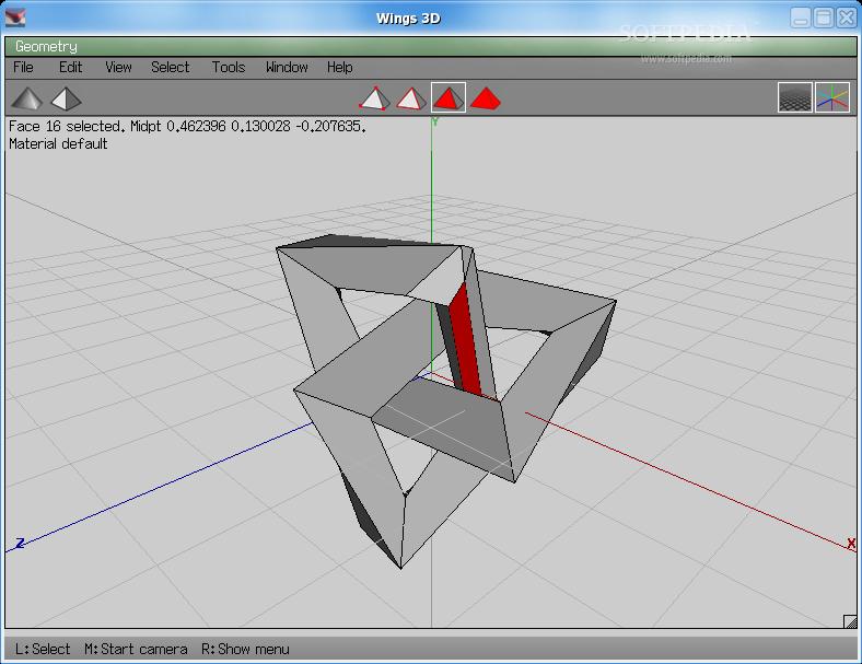 wings 3d for linux 1 2 screenshots. Black Bedroom Furniture Sets. Home Design Ideas
