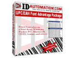 IDAutomation UPC/EAN Barcode Font Package
