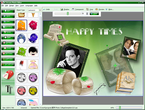 Professional Photo Editing Software V2009 1 1 Screenshots
