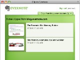 Evernote Site Memory Button