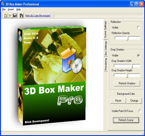 3d box shots creator software 2 0 screenshots Online 3d design maker