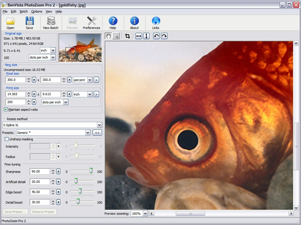 PHOTOZOOM 2 TÉLÉCHARGER 2.1.4 PRO