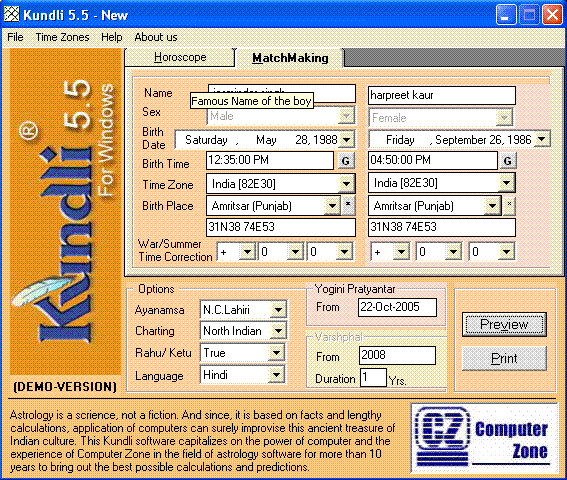 Kundli match making software for mac