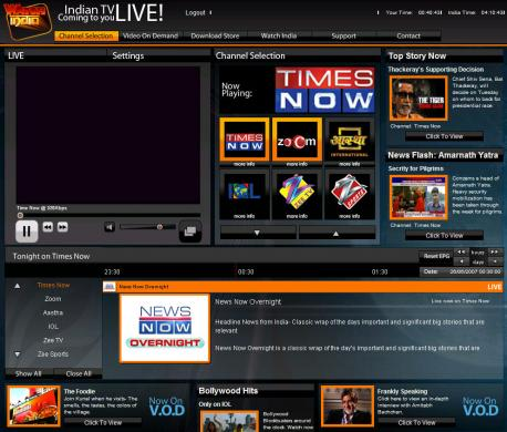 Watch Live TV Online Free Software 1000's Streaming Internet TV ...