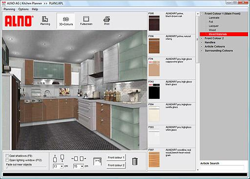 ALNO AG Kitchen Planner 096a Screenshots