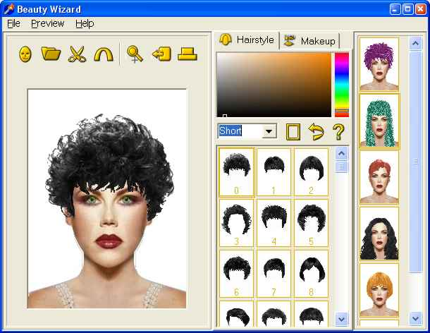 Welcome folks, today I want post interesting topic about hairstyle generator