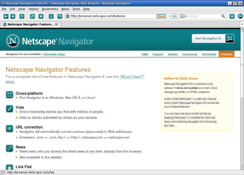 netscape navigator 7 1 free download