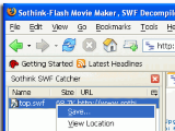 Sothink SWF Catcher for Firefox - Free