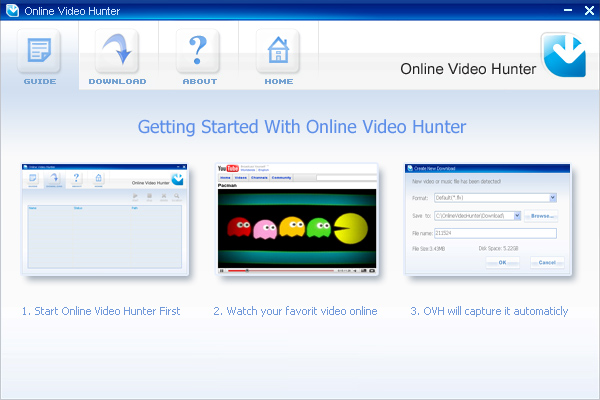 Online Video Hunter