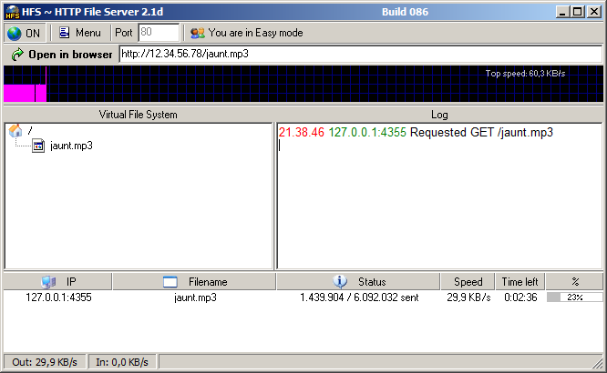 how to read a hfs file