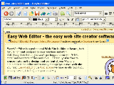 Easy Web Editor website creator