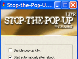Stop-the-Pop-Up Lite