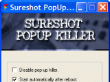 Sureshot PopUp Killer