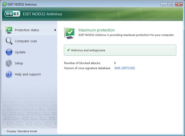 Nod antivirus 4 ключи