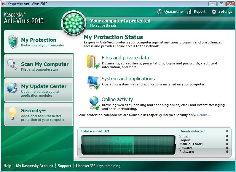 kaspersky antivirus 2012
