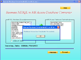 MySQL to MS Access DB Converter